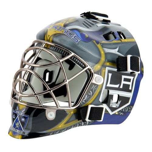 Franklin NHL Team Series Los Angeles Kings Mini Goalie Mask - view number 1