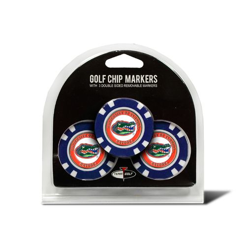 Team Golf University of Florida Poker Chip and Golf Ball Marker Set - view number 1