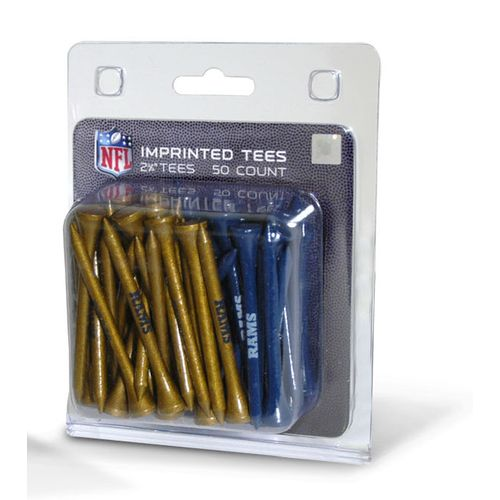 Team Golf St. Louis Rams Golf Tees 50-Pack - view number 1