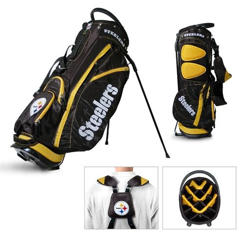 Team Golf Pittsburgh Steelers Fairway Golf Stand Bag
