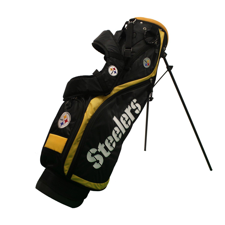 Team Golf Pittsburgh Steelers Nassau Golf Stand Bag
