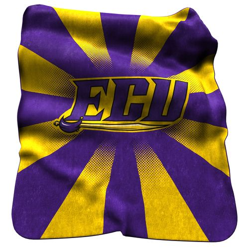 Logo™ East Carolina University Raschel Throw
