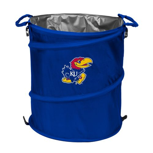 Logo™ University of Kansas Collapsible 3-in-1 Cooler/Hamper/Wastebasket - view number 1