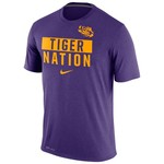 Nike Men's Louisiana State University Legend Local Verb T-shirt