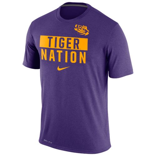 Nike™ Men's Louisiana State University Legend Local Verb T-shirt