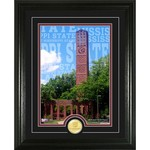 The Highland Mint Mississippi State University Campus Traditions Bronze Coin Photo Mint