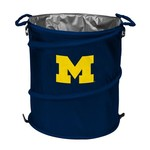 Logo University of Michigan Collapsible 3-in-1 Cooler/Hamper/Wastebasket