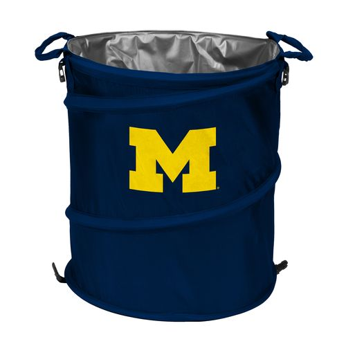 Logo™ University of Michigan Collapsible 3-in-1 Cooler/Hamper/Wastebasket