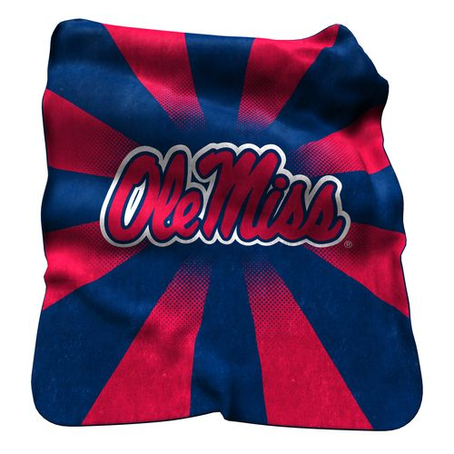 Logo™ University of Mississippi Raschel Throw