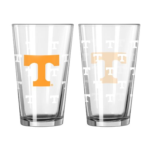 Boelter Brands University of Tennessee Game Day 16 oz. Pint Glasses 2-Pack