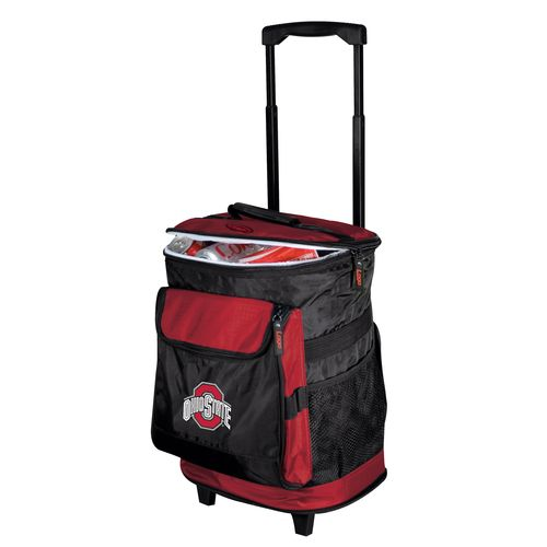 Logo™ Ohio State University 48-Can Rolling Cooler - view number 1