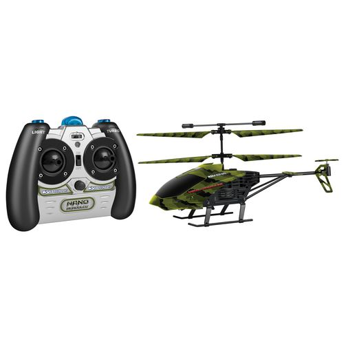 World Tech Toys Camo Nano Hercules 3.5-Channel RC Helicopter