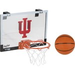 Rawlings® Indiana University Game On Polycarbonate Basketball Hoop Set