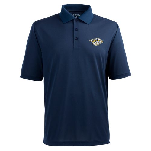 Antigua Men's Nashville Predators Piqué Xtra-Lite Polo Shirt