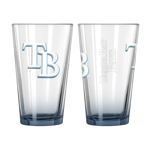 Boelter Brands Tampa Bay Rays Elite 16 oz. Pint Glasses 2-Pack