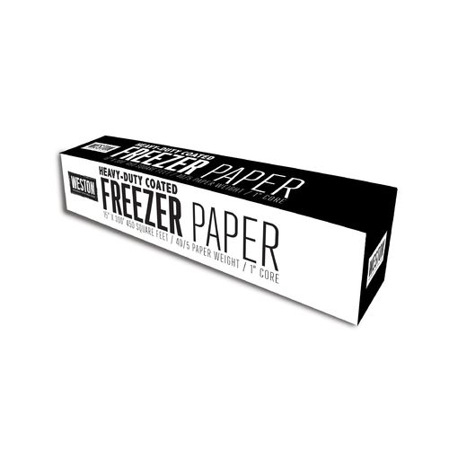 Display product reviews for Weston Heavy-Duty Freezer Paper with Cutter Box