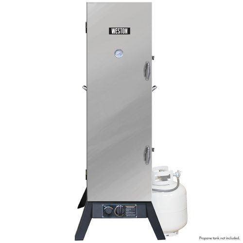"Weston 48"" Stainless Steel Outdoor Propane Smoker"