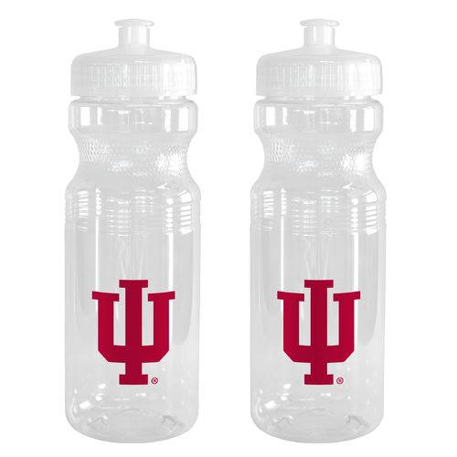 Boelter Brands Indiana University 24 oz. Squeeze Water Bottles 2-Pack