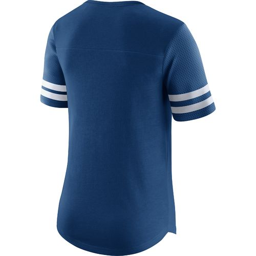 Nike Women's Indianapolis Colts Gear Up Modern Fan Top - view number 2