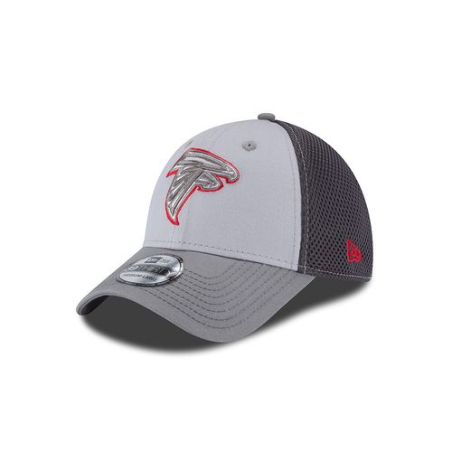 New Era Men's Atlanta Falcons Grayed Out Neo 39THIRTY Cap - view number 1