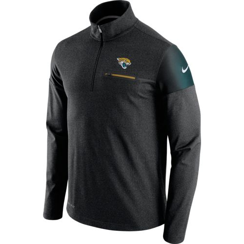 Nike Men's Jacksonville Jaguars Elite Coaches 1/2 Zip Top