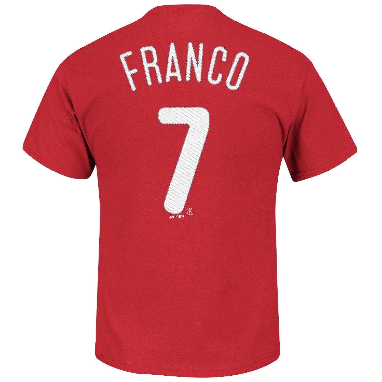 Majestic Men's Philadelphia Phillies Maikel Franco #7 T-shirt