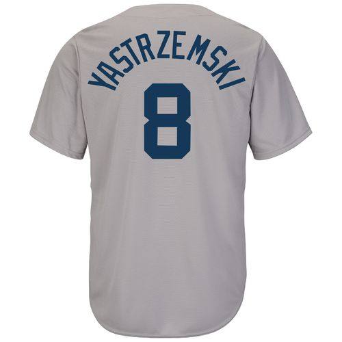 Majestic Men's Boston Red Sox Carl Yastrzemski #8 Cooperstown Cool Base 1969 Replica Jersey