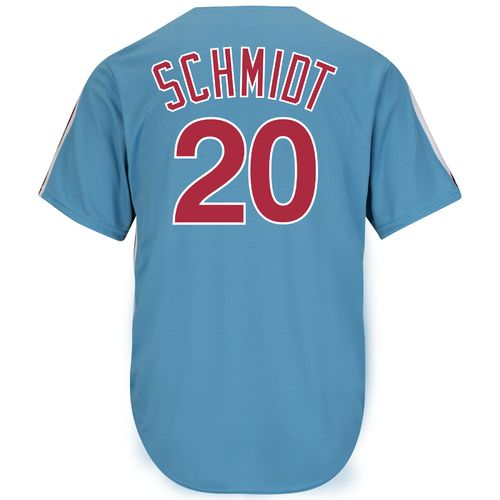 Majestic Men's Philadelphia Phillies Mike Schmidt #20 Cooperstown Cool Base 1980 Replica Jersey