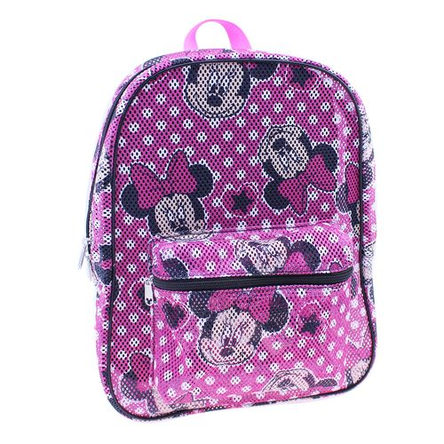 Disney™ Girls' Minnie Mouse Mesh Backpack