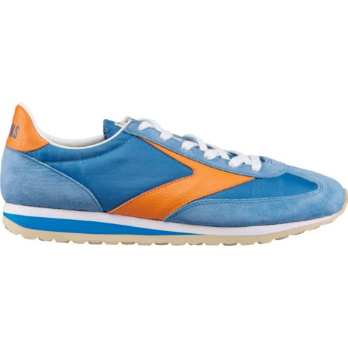 Brooks Men's Vanguard Heritage Shoes Blue/Medium Orange