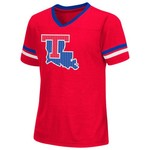Colosseum Athletics™ Girls' Louisiana Tech University Titanium T-shirt