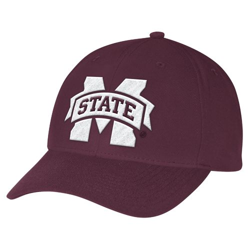 adidas™ Men's Mississippi State University Structured Adjustable
