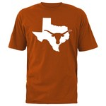 289c Apparel Men's University of Texas Longhorn State T-shirt