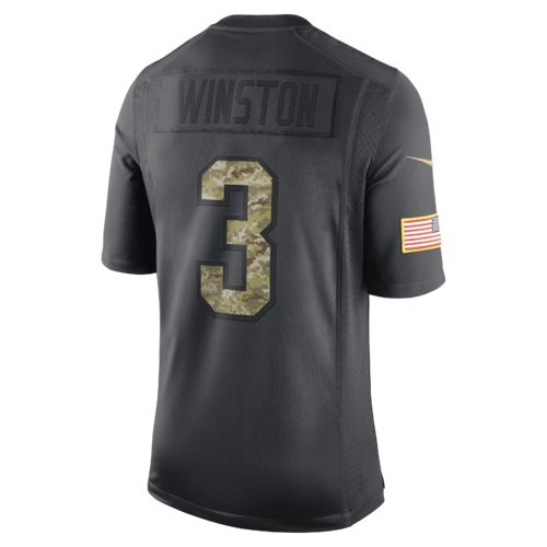 Nike Men's Tampa Bay Buccaneers Jameis Winston #3 STS Jersey - view number 1