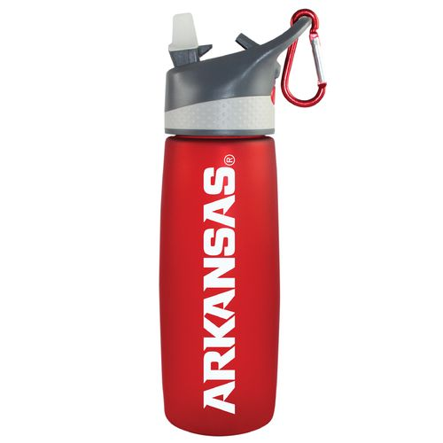The Fanatic Group University of Arkansas 24 oz. Frosted Sport Water Bottle