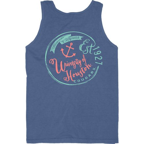 Blue 84 Men's University of Houston Overdyed Neon Tank Top