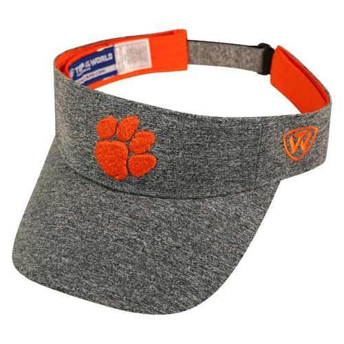 Top of the World Men's Clemson University Steam Visor