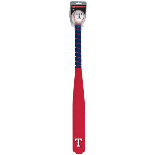 Jarden Sports Licensing Texas Rangers Foam Bat and Ball Set - view number 3