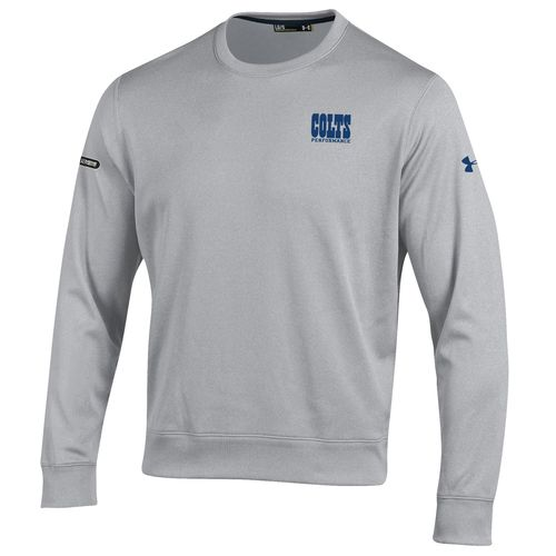Under Armour™ NFL Combine Authentic Men's Indianapolis Colts Armour® Fleece Crew Pullo - view number 1