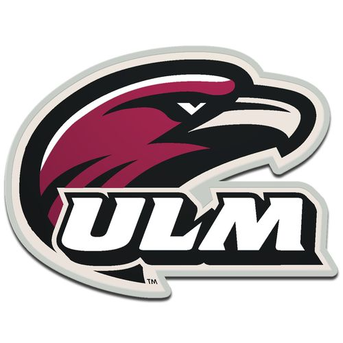 Stockdale University of Louisiana at Monroe Laser-Cut Auto Emblem