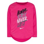 Nike Kids' Always Fast Modern Long Sleeve T-shirt