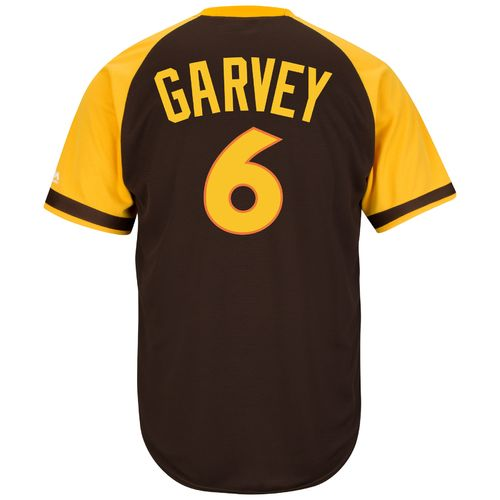 Majestic Men's San Diego Padres Steve Garvey #6 Cool Base Cooperstown Jersey