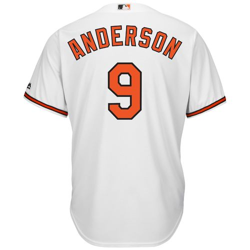 Majestic Men's Baltimore Orioles Brady Anderson #9 Cool Base Replica Jersey - view number 2