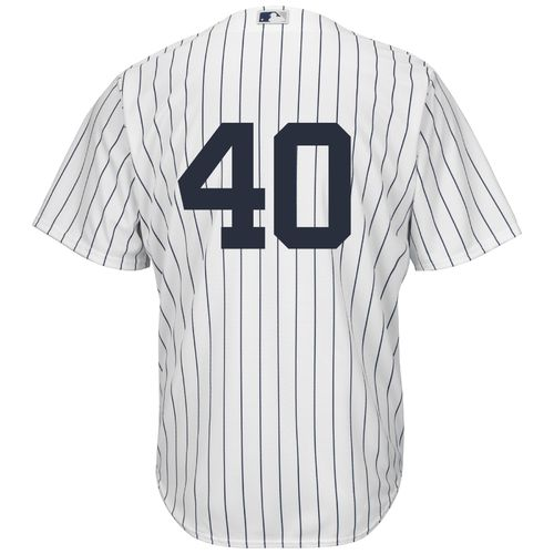 Majestic Men's New York Yankees Luis Severino #40 Number Only Cool Base Replica Jersey