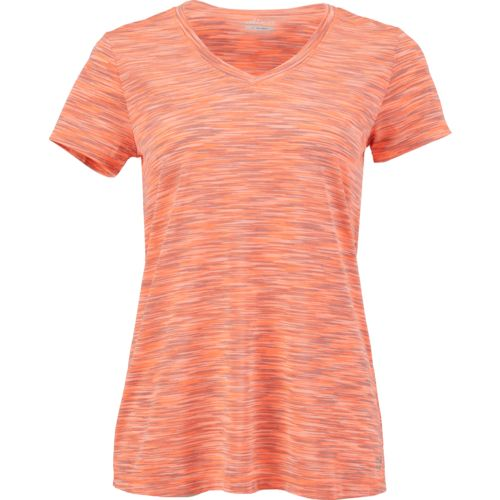 BCG Women's Short Sleeve Space Dye Tech T-shirt
