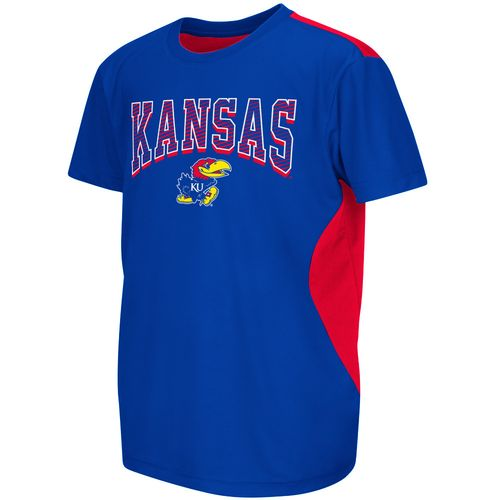 Colosseum Athletics™ Boys' University of Kansas Short Sleeve T-shirt