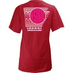 Three Squared Juniors' Arkansas State University Moonface T-shirt