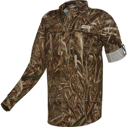 Magellan Outdoors™ Men's Fish Gear Falcon Bay Realtree Max-5® Long Sleeve Shirt