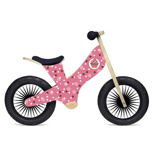 Display product reviews for Kinderfeets Kids' Retro Cupcake Balance Bicycle