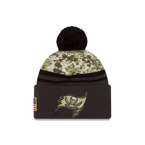 New Era Men's Tampa Bay Buccaneers Salute to Service Knit Cap